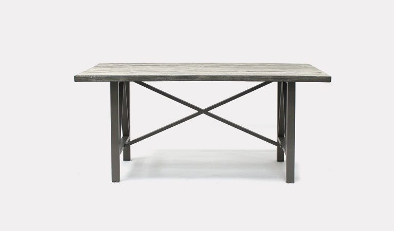 LaMode 180x100cm dining table from KETTLER's Classic Garden furniture range on a grey background.