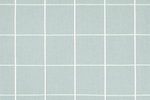 Aqua Check fabric swatch