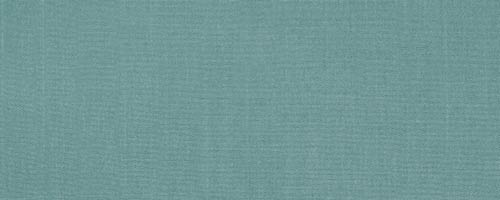 Aqua coloured fabric swatch