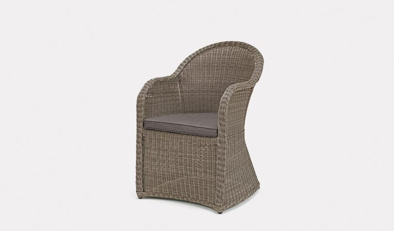 The Banaba Chair from KETTLER's Classic Garden furniture range on a grey background.