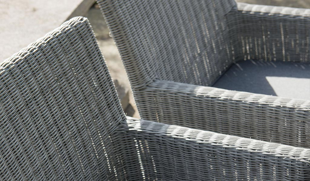 Bretagne Chair in White Wash from KETTLER's Classic garden furniture range.