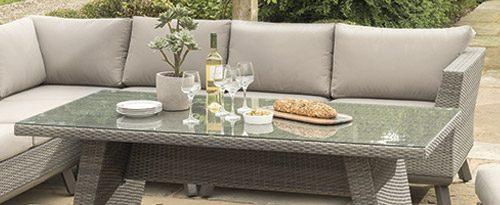 Caleta Modular Set Casual Dining Garden Furniture