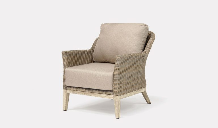 The Cora Lounge Chair from KETTLER's Garden furniture range on a grey background.