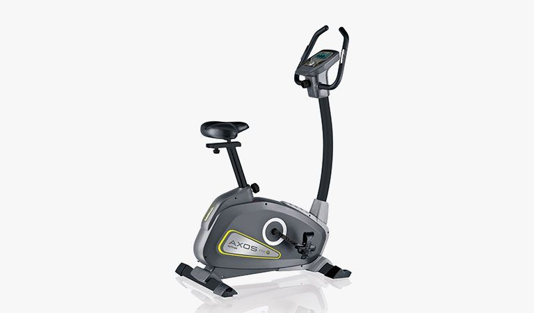 The Cycle P Exercise Bike from KETTLER's fitness range on a grey background.