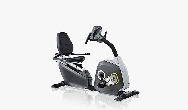 The Cycle R Exercise Bike from KETTLER's fitness range on a grey background.