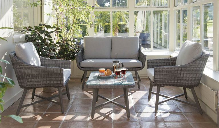 LaMode Lounge Set from KETTLER's Elegance range in a conservatory