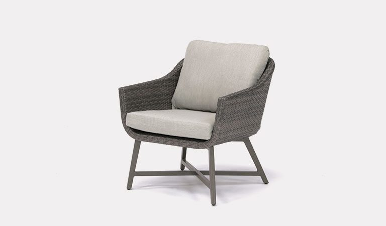 The LaMode Lounge Chair from KETTLER's Elegance Garden furniture range on a grey background.