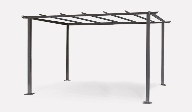 The Panalsol 3x4m Frame from Kettler Garden Furniture on a grey background.