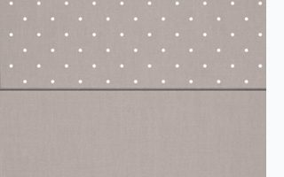 Kettler polka dot cushion fabric