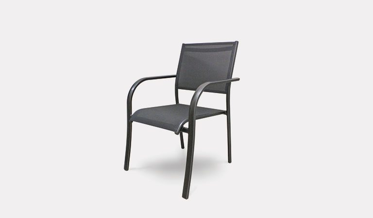 The Surf Club Chair from KETTLER's Classic Garden furniture range on a grey background.