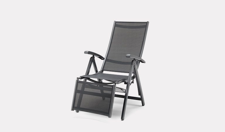 The Surf Relaxer Chair from KETTLER's Classic Garden furniture range on a grey background.