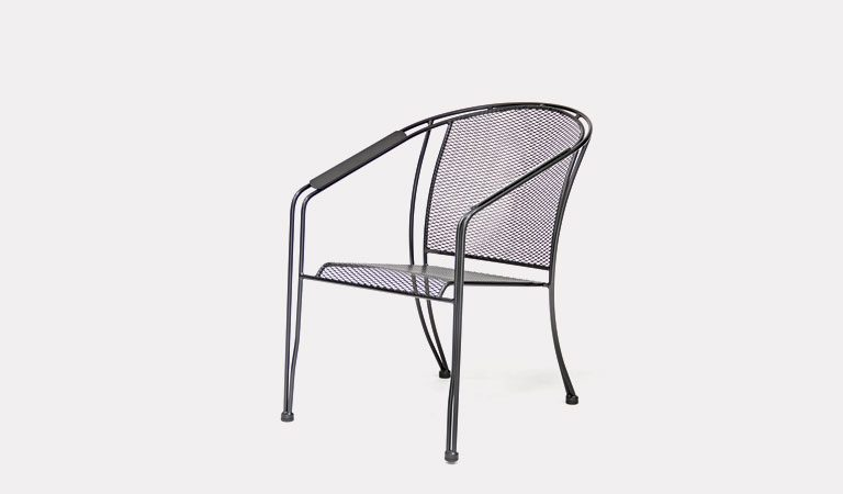 TheVenezia Dining Chair from KETTLER's Classic Garden furniture range on a grey background.