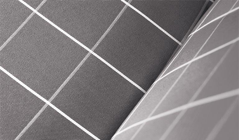 Wisterial Check fabric cushion detail