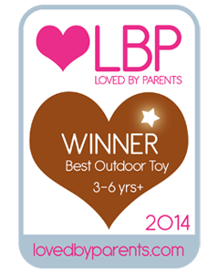 Loved by parents best outdoor toy 3-6 years 2014