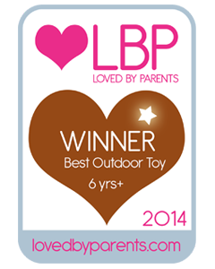 Loved by Parents best outdoor toy award 2014