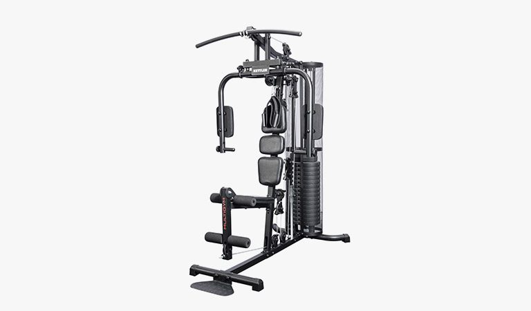 The Multigym from KETTLER's fitness range on a grey background.