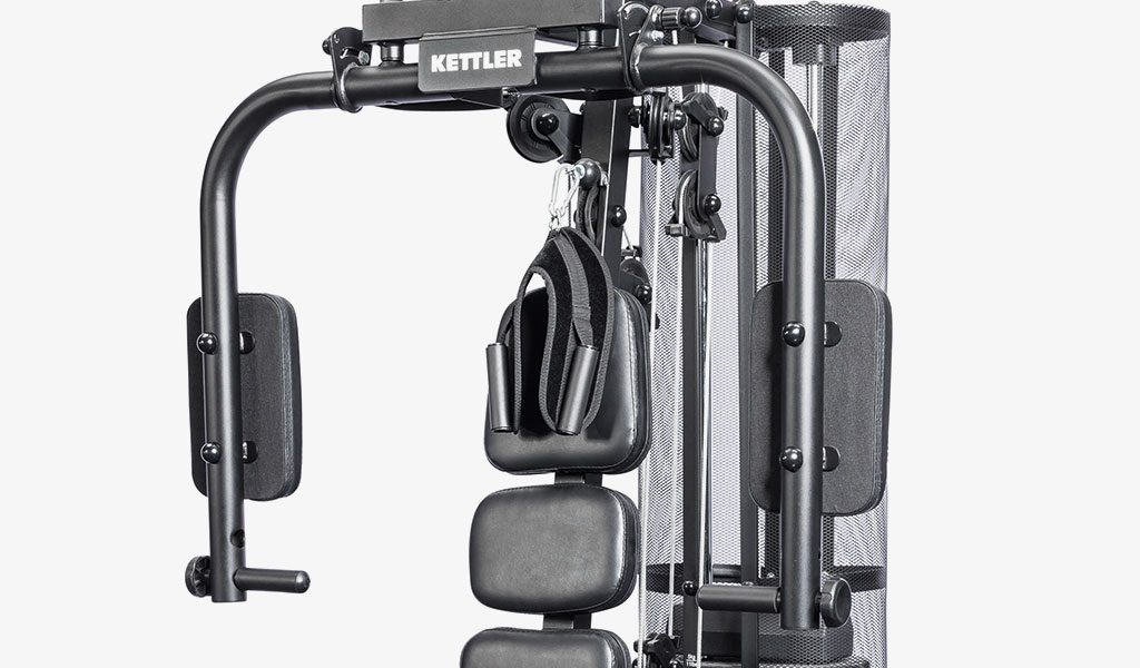 Detail of the Multigym from KETTLER's fitness range.