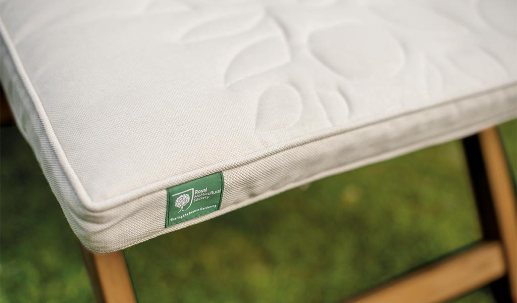 Detail of the Chelsea Steamer from the RHS by KETTLER garden furniture range.