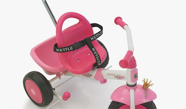 Safety Straps for the Trikes from KETTLER's Toy range on a grey background.