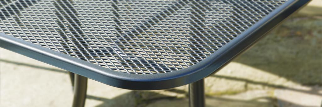 Detail of a Classic Mesh Table.