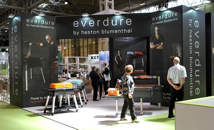Kettler Everdure Exhibition Stand at Solex 2017