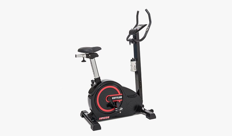 The Picos Exercise Bike form KETTLER's Fitness range on a gray background.