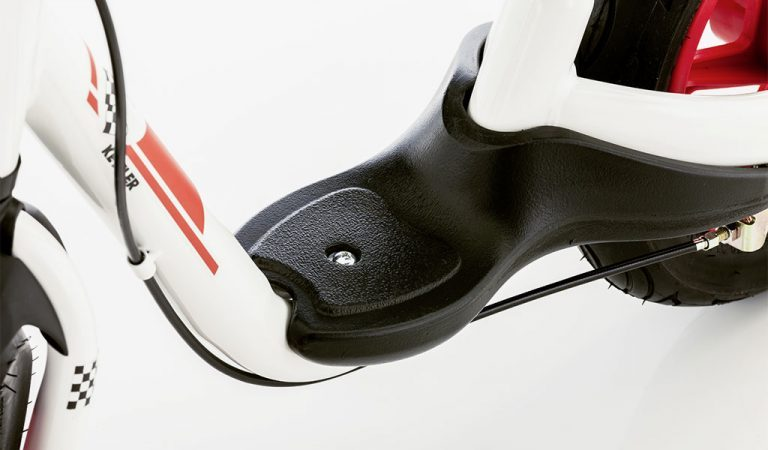 Detail of the Sprint Air Racing Balance Bike.