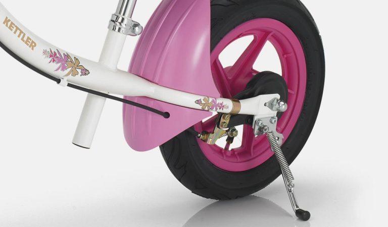 Detail of the Sprint Air Princess Balance Bike.
