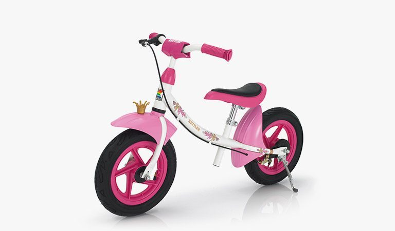 The Sprint Air Princess Balance Bike on a grey background.