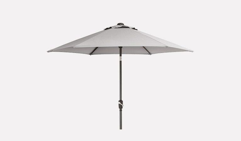 be877517e80b Henley 3.0m Free Arm Parasol - Grey   John Lewis - Kettler Official Site