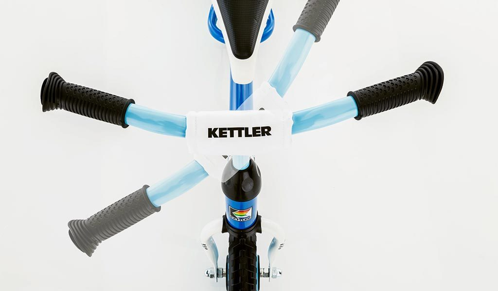 Steering handle detail of Kettler's Speedy 10