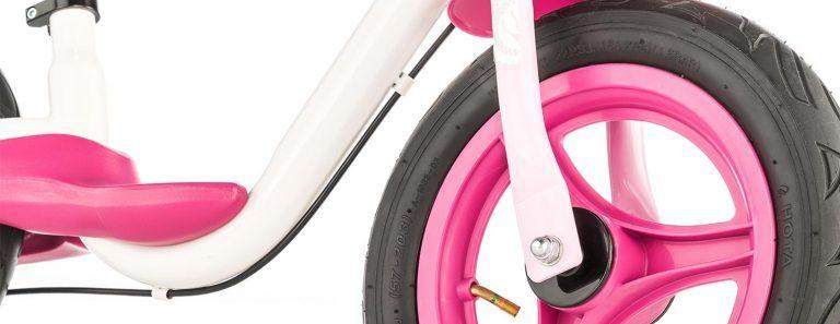 "Detail of Kettler's Spirit Air 12.5"" Princess balance bike"