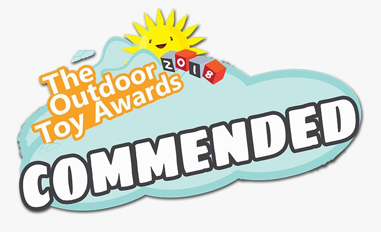 The Outdoor Toy Awards Final Commendation logo.