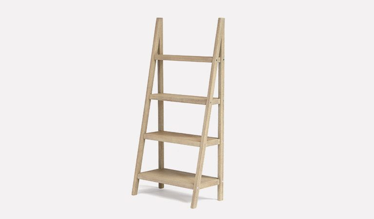 The Cora Outdoor Plant Stand – Tall on a grey background.