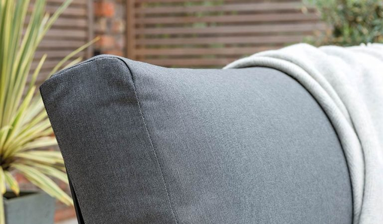 Cushion detail of the Elba Corner Set.