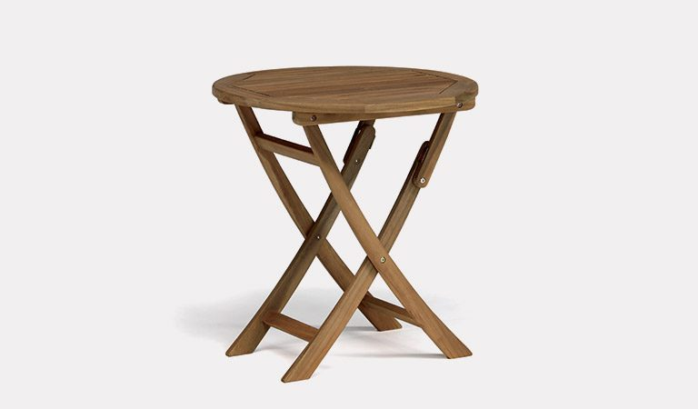 An RHS By Kettler Chelsea Bistro Table on a grey background.