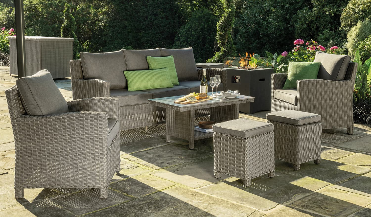 Palma Sofa Set  Casual Dining Garden Furniture - Kettler Official