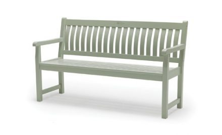 RHS Rosemoor 5ft Bench, Acacia from KETTLER's RHS Wood range on a white background