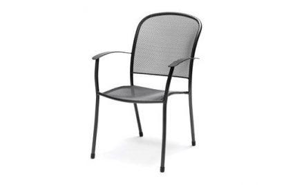 Caredo Chair from KETTLER's Metal Garden Furniture range on a white background