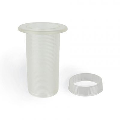 Parasol Hole Plastic Insert for Wicker 144cm Table on a white background