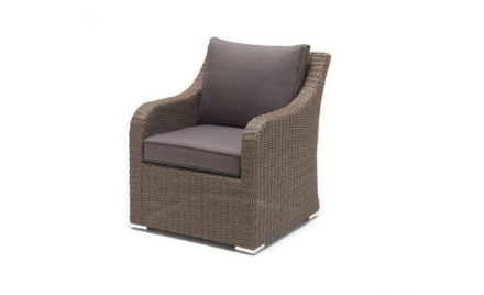 The Madrid Armchair - Rattan from KETTLER's Casual Dining range on a white background