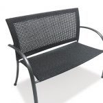 Moraira Bench from KETTLER's Notcutts Garden Furniture range on a white background