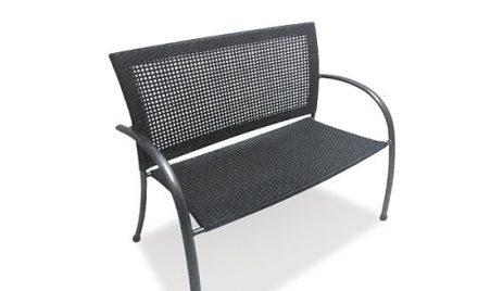 Moraira Bench from KETTLER's Notcutts Garden Furniture range on a white background