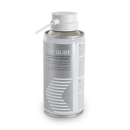 Silicone Spray for Treadmill Maintenance on a white background.