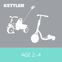 Balance Bikes, Go Karts, Scooters & Trikes - Age 2-5